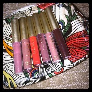 Nicole Miller Lip Gloss/Shimmer Lip Gloss Set *6*